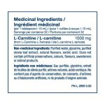 pvl-liquid-carnitine-750-ingredient-panel