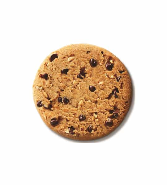 One cookie image of Lenny&Larry Complete Cookie Peanut Butter 12 Cookies shown in white background
