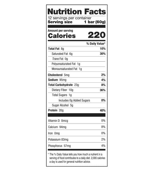 one-protein-bar-maple-donut-nutrition-facts