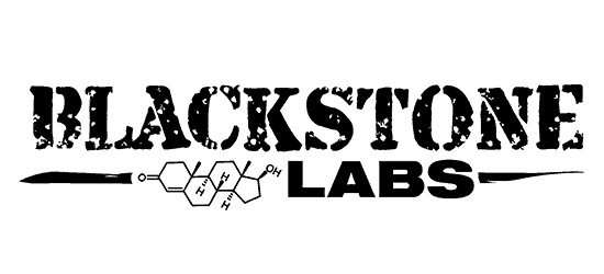 blackstone labs logo grungy font