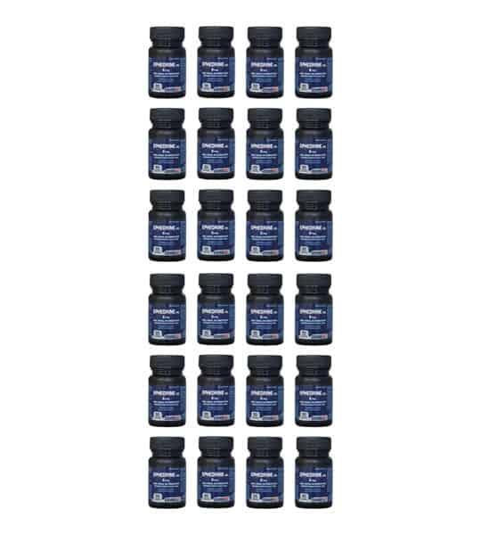 24 bottles of 4ever Fit Ephedrine 50-8mg shown in white background