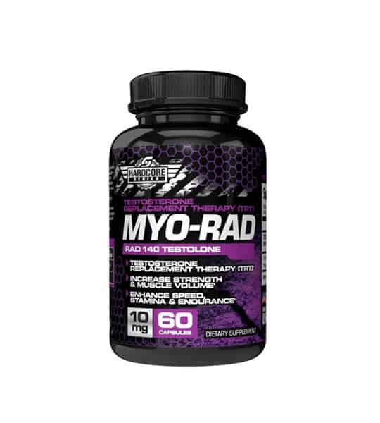 Black bottle of savage line labs myorad sarms rad 140 testolone 10mg 50 tesosterone replacemnt therapy for TRT