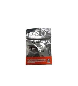 Silver and red pouch of Kaizen Ephedrinehel HCL contains 50 shown in white background