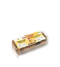 Clear package with yellow label of Avoine Doree Oatmeal Gold Energy Bar with oatmeal & honey flavour contains 100g