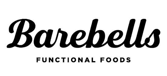 Barebells Functional Foods logo black cursive font