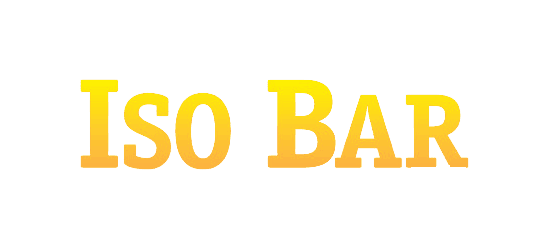 Iso Bar logo yellow orange