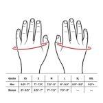 lifttech-elite-wrist-wrap-size-chart