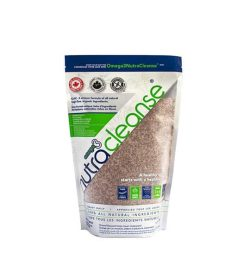 Pouch of NutraCleanse omega3 contains 1 kg of 100% all natural ingredients
