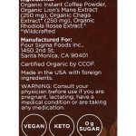 Four-Sigmatic-Coffee-Mixes-10-packets-Lion's-Mane-and-Chaga-Ingredients