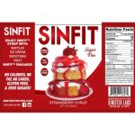 Sinfit-Strawberry Syrup-12-oz-facts