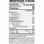 Sinfit-Strawberry-Syrup-12-oz -facts1
