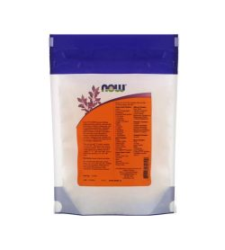 Backside facts panel of NOW Gelatin Capsules 3 1000-Capsules shown in white background