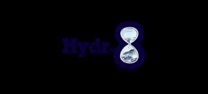 Hydr8 WATER BOTTLES logo