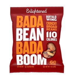 One red pack of Enlightened bada bean bada boom Buffalo Wing flavour