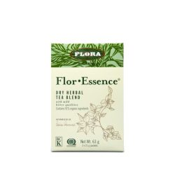 One green label of Flora Flor Essence Dry Herbal Cleanse 63 g