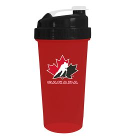 One red NHL Shaker cups Team Canada in white background