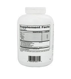 Supplement facts panel of NaturalFactors PGX Daily Ultra Matrix 750mg