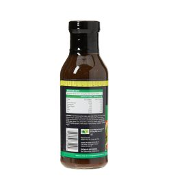 One brown bottle of Walden Farms Italian Dressing with Sun dried Tomato 355ml facts side