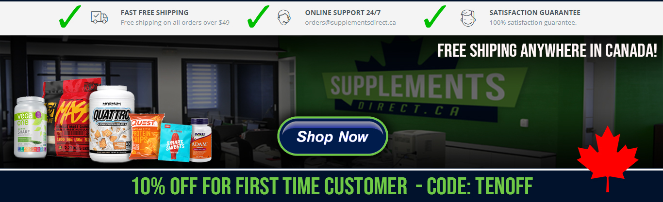 Supplements Direct | Buy Nutrition Supplements Online