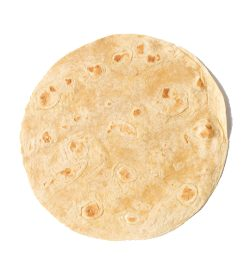 EatMe Guilt Free Protein Tortilla showing 1 tortilla in white background