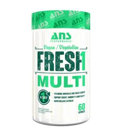 One white and green container of ANS Fresh1 Multivitamin 60 Capsules