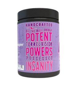 One purple and black container of Black Magic BZRK Pre Workout 25 servings Berryd_money