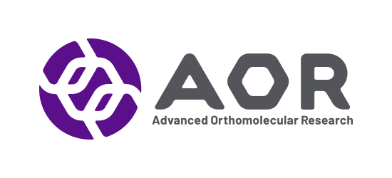 Aor vitamins logo Advanced Orthomolecular Research