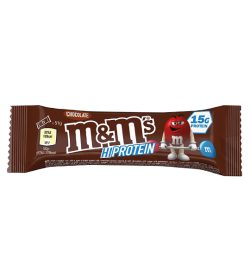 One pack of M&M's hi protein bar 51g chocolate 15 g protein